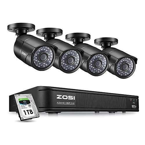 ZOSI 1080p Camera System