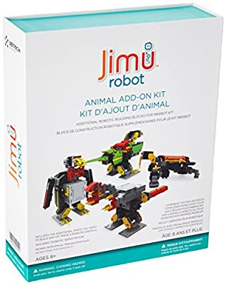 UBTECH Jimu Robot BuzzBot & MuttBot - App Enabled STEM Learning Robotic Building Block Kit