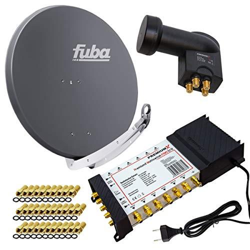 PremiumX Satelliten-Komplettanlage Fuba DAA 850 A...