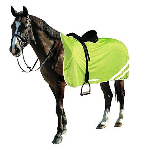 Kerbl - Coperta riflettente di sicurezza per cavallo