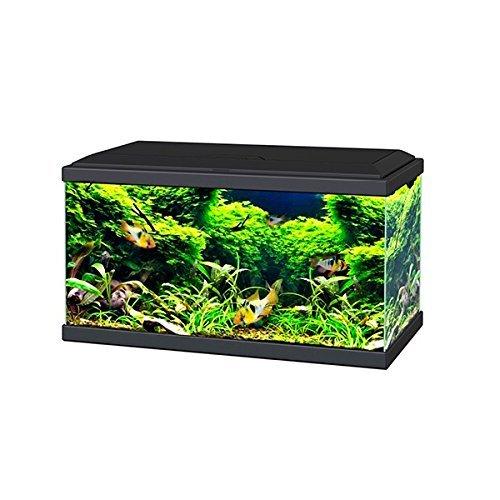 Ciano Black Aqua 60 LED Tropical Glass Aquarium - Includes Filter, Lights & Heater 58L