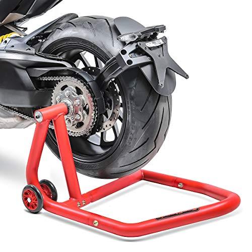 ConStands - Motorrad Montageständer für KTM 1290 Super Duke/R 14-21 Rot Hinterrad Einarmständer Single One