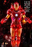 Hot Toys Avengers Movie Masterpiece Series MMS568 Iron Man Mark IV Holographic Toy Fair 2020 Exclusive Version Collectible Tony Stark Marvel Ironman 2 Mark 4 Figure Limited Edition