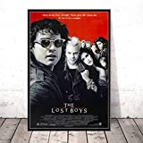 zpbzambm Cuadro En Lienzo 40X50Cm Sin Marco,The Lost Boys Classic Movie Art Seda Pintura sobre Lienzo Wall Poster Home Decor Zp-2787