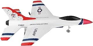 Baoblaze Maqueta de Avión de Combate Militar Eléctrico 2.4G Radiocontrol Juguete Educativo Imaginativo para Niños Adultos