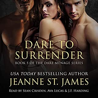 Dare to Surrender  audiobook cover art