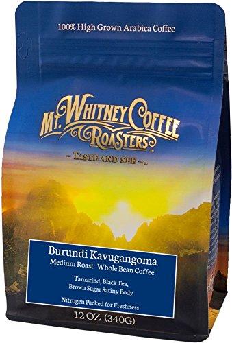 Mt. Whitney Burundi Kavugangoma, Whole Bean Coffee - 12 oz bag