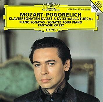 Mozart: Piano Sonatas K.283 & K.331; Fantasia K.397