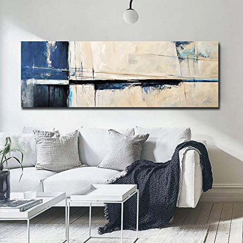 unbrand graffitikunst poster wanddecoratie modern abstract canvas schilderij bank woonkamer decoratie druk op canvas 60X180CM Q