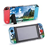 SUPNON Panorama of Beautiful Nature at Cheow LAN Protective Case Compatible with Nintendo Switch Soft Slim Grip Cover Shell for Console & Joy-Con with Screen Protector, Thumb Grips Design40181