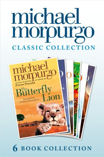 The Classic Morpurgo Collection (six novels): Kaspar; Born to Run; The Butterfly Lion; Running Wild; Alone on a Wide, Wide Sea; Farm Boy (English Edition)