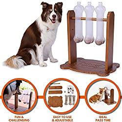 Interactive Dog Toy, Treat Dispensing Puzzle Game for Medium/Large Dogs