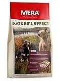 Mera Nature S Effect Mini, sans céréales Nourriture pour Chien, croquettes pour Petit Chien Premium avec Canard, romarin, Carottes et Pommes de Terre