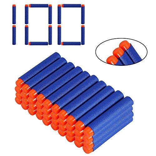 100pcs Freccette Foam Darts proiettile Dardi per bambini pistola giocattolo Blasters Toy Gun,freccette accessori