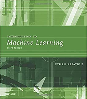 Introduction To Machine Learning, 3Rd Edn