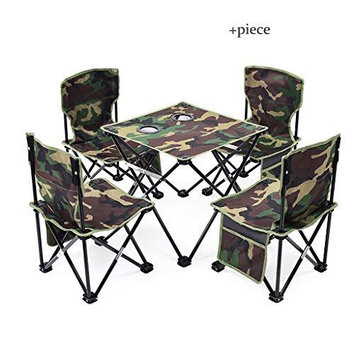Table pliante extérieure Camping Oxford Tissu Barbecue Beach Park Imperméable Durable Ultra Légère Table De Pique-Nique Table Pliante