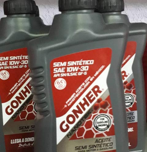 Aceite Sintetico 10W30 Gonher 946 ML