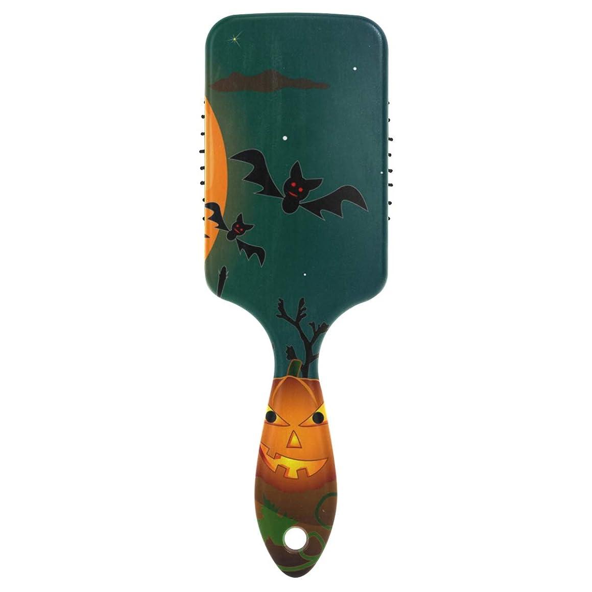 Day of Dead Skull Hair Brush Plastic Detangling Brushes Natural Detangler Paddle Hairbrush for Women Men Kids Stimulate Scalp Help Growth Add Hair Shine