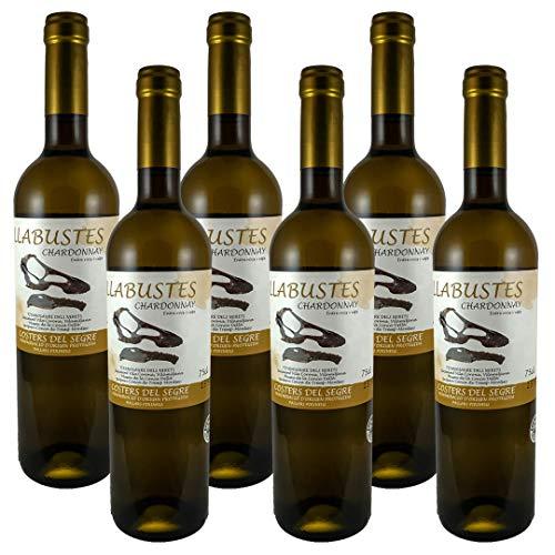 Vino Blanco Llabustes Chardonnay 2019 | Bodega Vila Corona | D.O. Costers del Segre | Chardonnay
