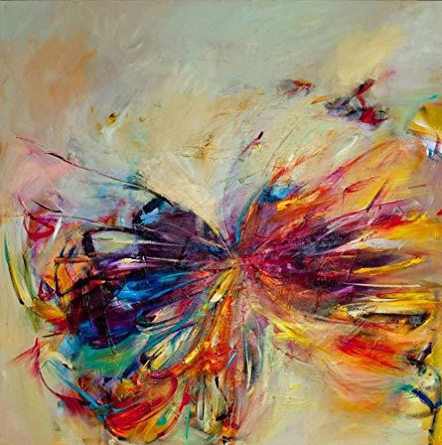 Adoff Puzzle de 1000 piezas, diseño de mariposa, para niños de toda la familia, papel imposible muy difícil
