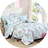 FADFAY Bed in a Beg Set 7-Pieces French Country Bedding Set Queen Size Premium...
