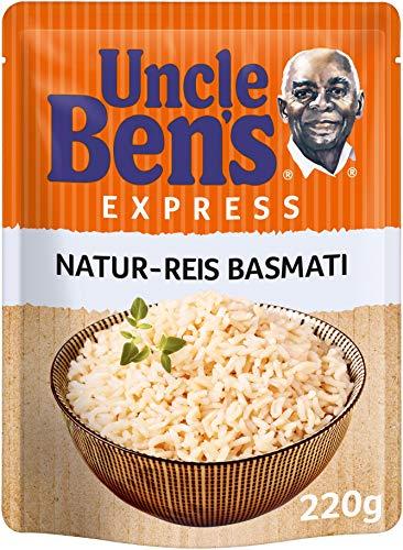 Uncle Ben's Express-Reis Naturreis Basmati, 220g