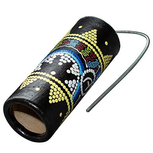 Australian Treasures - TAMBURO DEL TUONO, AT- BLCTD-20- Thunder Drum- strumento musicale per bambini - Tuono Tamburo - 20cm