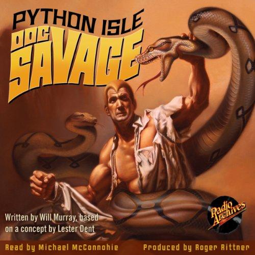 Doc Savage: Python Isle Titelbild