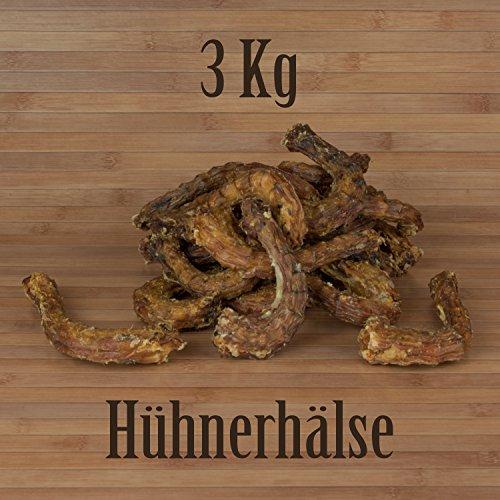 Hähnchenhälse 3 Kg Hühnerhälse wie Hühnerfüsse o. Putenhälse Kausnack