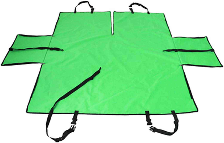 Car Rear Seat Pet Mat, Waterproof Pet Pad Dog Mat Car NonStick Hair AntiDirty Pad Cat Seat Back Seat Cover Antibite (color   Green)
