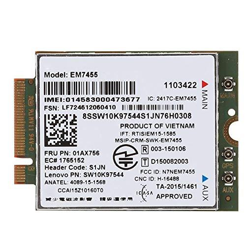 4G-Netzwerkkartenmodul, Netzwerkkarten-Notebook/Tablet/Ultrabook 4G NGFF/M2-Schnittstelle LTE-Modul Für ThinkPad T460 T460p T460s UMTS/HSDPA/HSPA +, für Windows 7/8/8.1/10 für Linux
