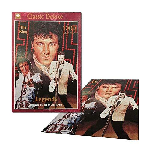 Legends   Classic Deluxe Jigsaw Puzzle: Elvis