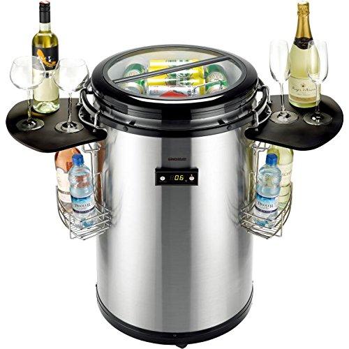 Gino Gelati Party Kühlschrank mit , Kühlbox, Getränkekühlschrank