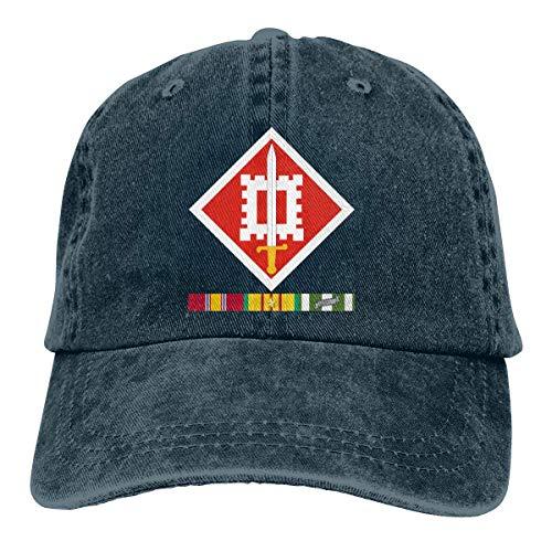 DFHGFJGH 35 División de Infantería División de Santa Fe Gorras de béisbol Ajustables Sombreros de Mezclilla Vaquero Deporte al Aire Libre
