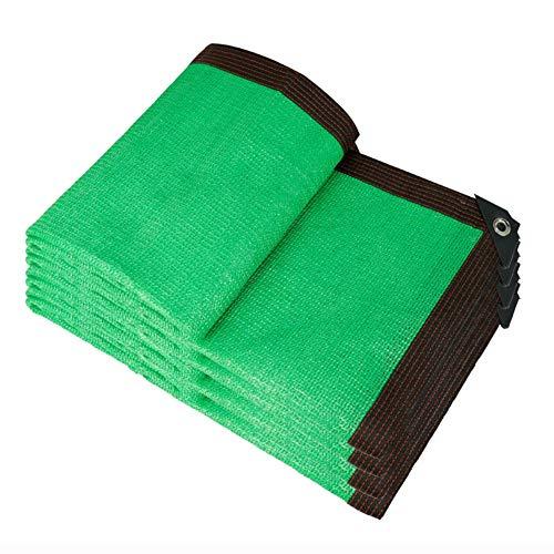 Cortina de la red 85% del paño de la cortina 2 x 2 m M - Verde cortavientos Tela Sun Red de privacidad con ojales for pérgola cubierta de copas cifrado Jardín Balcón exterior Toldos ( Size : 2*2m )