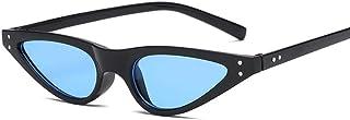 FJCY - Gafas de Sol Triangulares pequeñas con Forma de Ojo de Gato para Mujer, Gafas de Gato Vintage a la Moda, Gafas de Sol Elegantes para Mujer, Uv400