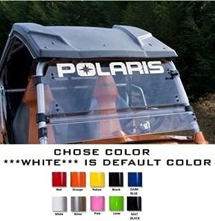UUSticker Polaris winshield Sticker Ranger RZR 800 900 1000 XP Team Decal Emblem