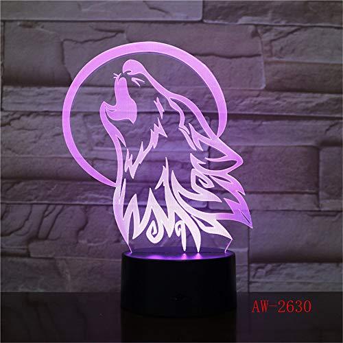 Ancient Pavilion 3D Lampe Tischlampe 7 Farben Ersatz Tischlampe 3D Lampe Neuheit führte Nachtlicht Pavillon Parlament 7 Regler