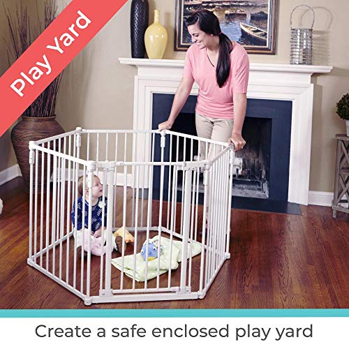 51VDQT4PU6L The TOP 7 Best Free Standing Baby Gates 2021 Review