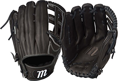 Marucci Founders Series H-Web Outfield Gloves, Black, 12.75', Left Hand
