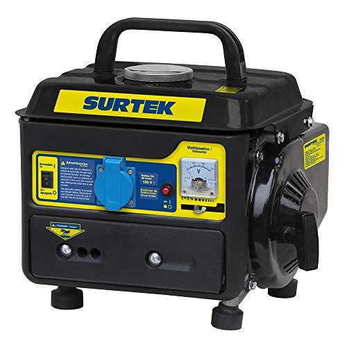Surtek GG408 Surtek Generador a Gasolina de 120 V, con Cilindrada de 63 CC, Potencia 800 W, Motor con 2…