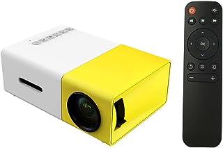 جهاز عرض بشاشة عرض 1080P LED من Walmeck FW1S YG300 مع فتحة يو إس بي عالية الدقة AV TF بطاقة جيب صغير وحدة تحكم عن بعد للهو...