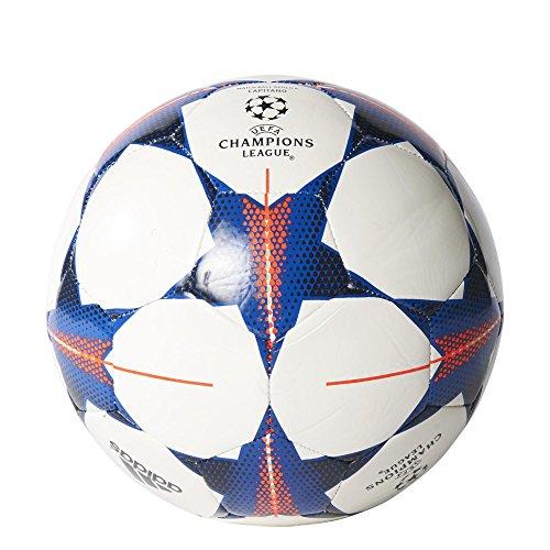 adidas Fußball Finale 15 FC Bayern München Capitano, White/Craft Red F12/Royal, 5, S90234