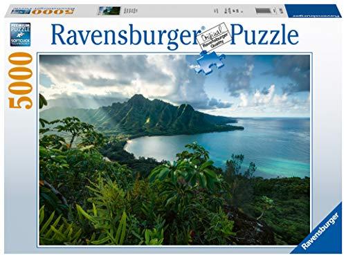 Ravensburger Puzzle 16106 - Atemberaubendes Hawaii - 5000 Teile Puzzle für Erwachsene und Kinder ab 14 Jahren, Landschaftspuzzle, Natur-Puzzle mit Landschaftsmotiv