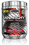 MuscleTech Anarchy, Max Potency Pre-Workout Powder, Fruit Punch, 30 Servings, 5.31 oz (150g)