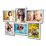 Artepoint 604 Fotogalerie für 6 Fotos 13x18 cm - 3D Optik - Bilderrahmen...