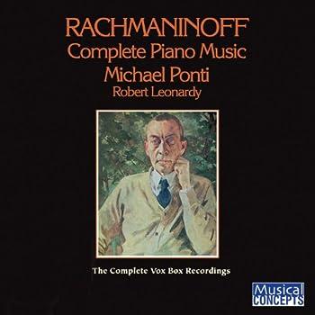 Rachmaninoff  Complete Piano Music — The VOX BOX Edition