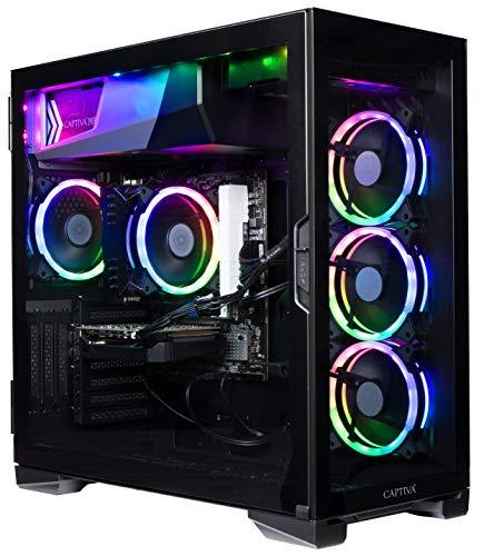 Captiva Advanced Gaming R57-867 | AMD Ryzen 5 3600 | NVIDIA GTX 1650 4GB | 16GB DDR4 RAM | SSD 1TB M.2 | Luftkühlung | RGB Lüfter | Kein Betriebssystem | PC Spiele