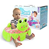 Baby Sofa Infant Support Seat Learning Sitting Chairs for Babies Bouncer Soft Elephant Plush Floor Seats Suitable for Play Infants Tummy Time Frog