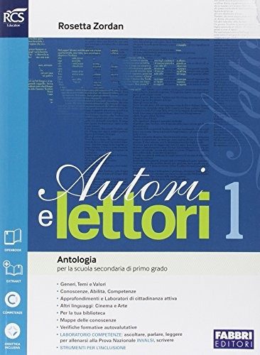 Autori e lettori. Quaderno-Traguardo delle competenze. Per la Scuola media. Con espansione online. Mito ed epica (Vol. 1)